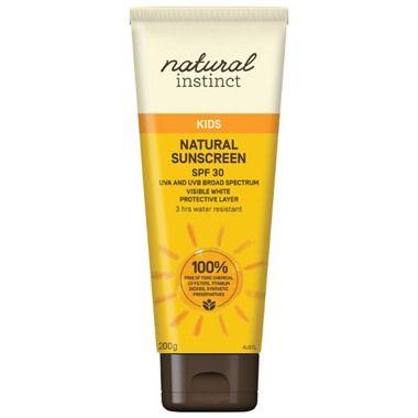 Natural Instinct Kids Sunscreen $15.95 http://www.hellocharlie.com.au/natural-instinct-kids-sunscreen/