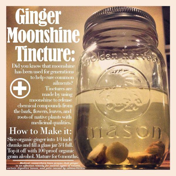 Copper Moonshine Stills & Moonshine Still Kits http://www.clawhammersupply.com/blogs/moonshine-still-blog/6922976-how-to-make-a-ginger-alcohol-tincture