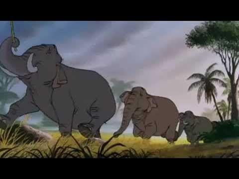 le livre de la jungle *la patrouille des elephants* HQ - YouTube