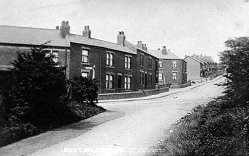 Butt Hill, Kippax, Leeds (UNDATED) Leodis - http://www.leodis.net/ - Old pictures of Leeds