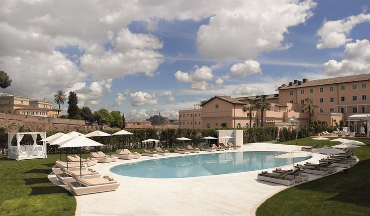 Gran Melia Rome is centrally located in Rome, steps from Bambino Gesu Hospital and minutes from Santo Spirito Hospital. This 5-star hotel is close to St. Peter's Basilica and Roman Forum.  http://www.lowestroomrates.com/avail/hotels/Italy/Rome/Gran-Melia-Rome.html?m=p  #RomeHotels