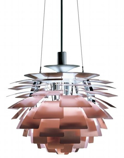 Artichoke - Copper -  Designed by Poul Henningsen for Louis Poulsen Lighting Inc.    (1958)