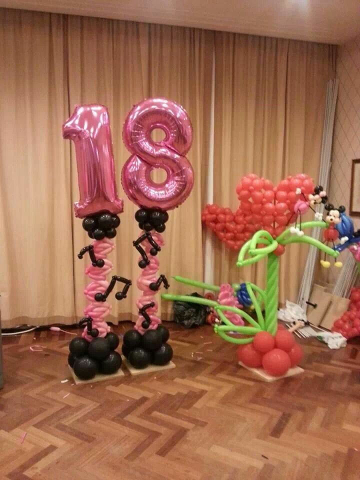 28 best balloom images on pinterest balloon decorations for 18th birthday decoration ideas