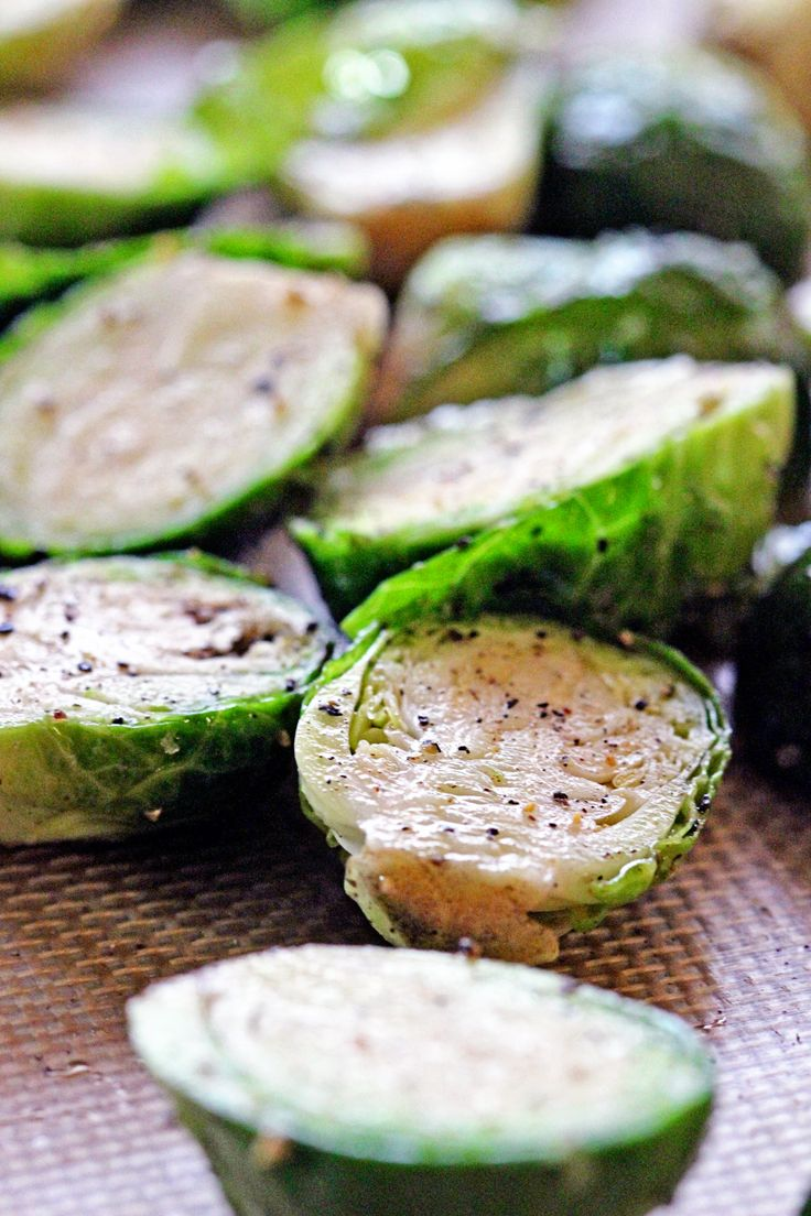 Roasted Brussels Sprouts with Honey and Balsamic Vinegar