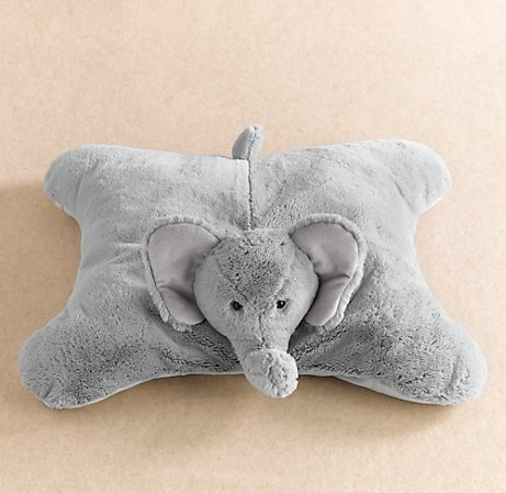 Plush Floor Pillows : 104 best images about Baby Lillie on Pinterest Coral aqua, Elephant pillow and Gray chevron