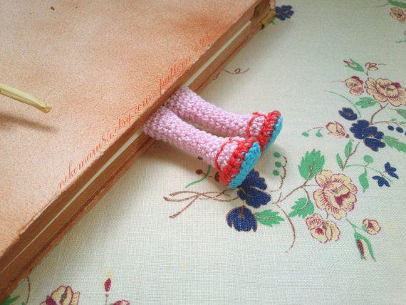 Amigurumi piernas marcador ganchillo patrón pdf 24 por Nekomaru85