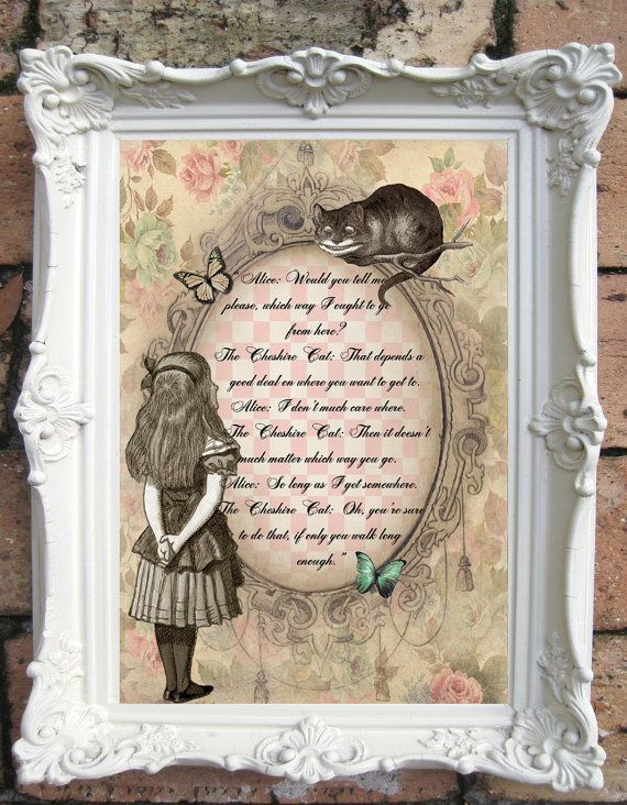 Best 25 Alice In Wonderland Gifts Ideas On Pinterest