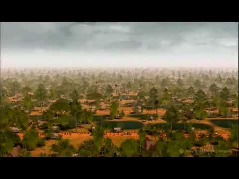 Excellent Animation of the Khmer Empire at its height 800 years ago!