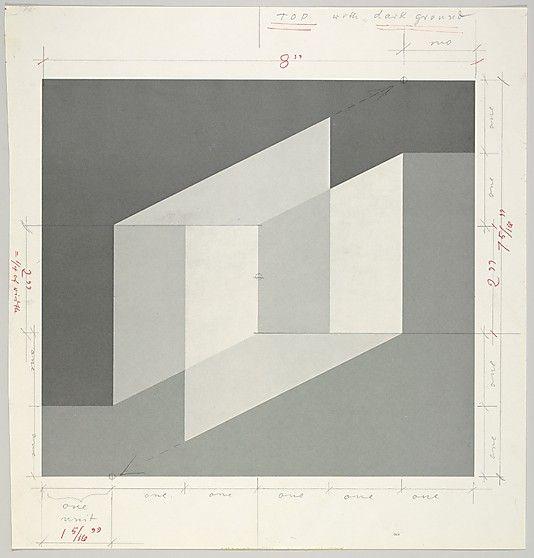 Josef Albers (Untitled, 1976), (via Black Heart Press),