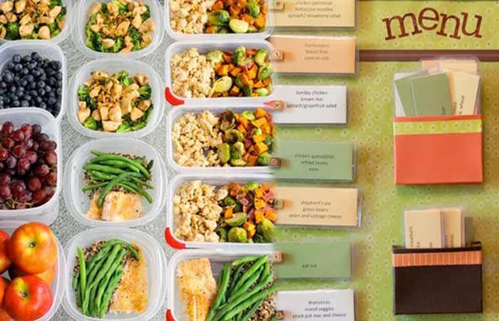 Вегетарианская диета на неделю для похудения с