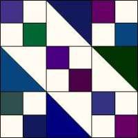 Jacobs Ladder Quilt Pattern from our Quilt Design 101 Series