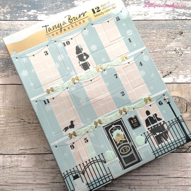 Tanya burr advent calendar.. This is my advent calendar number 1. Starting early ⛄️