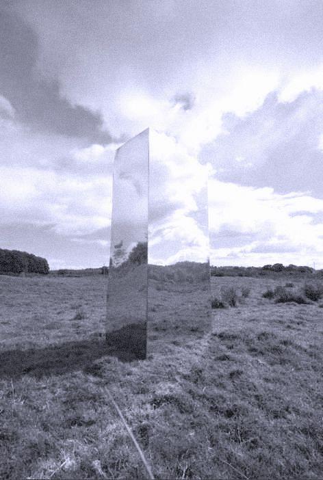 Reflective Sculpture - Rob Mulholland