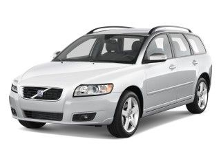 2010 Volvo S5 Wagon.  Automatic.  White with grey leather seats.  Did not live up to my manual Volvo S50.  Decided that a wagon was not the car for me.  Goodbye Volvo hello Hyundai Sonata.
