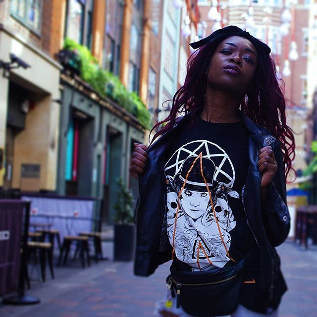"CRMC X @lzhra ""Orange Odyssey"" Tee Available at www.crmcclothing.co | WE SHIP WORLDWIDE Model - Davina Miller Photography - Vizualography #clockworkorange #aclockworkorange #stanleykubrick #malcolmmcdowell #2001aspaceodyssey #occult #eyeswideshut #kubrick #geometry #tattooed #stanleykubrickexhibit #crows #Ravens #tattoo #tattoos #subliminalmessages #blackwear #black #loveblack #iloveblack #crmcclothing #alternative #alternativewear #alternativestreetwear #alt #altwear #dark #darkwear"