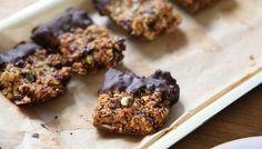 Festive chocolate flapjacks - Nigel Slater