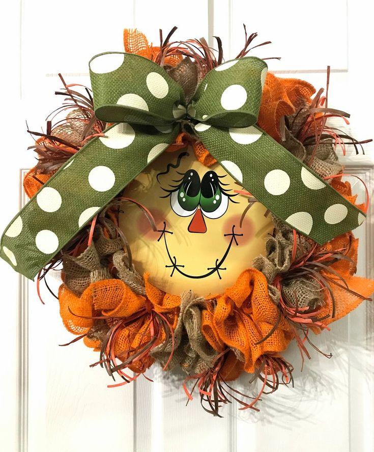 Mini Scarecrow Wreath