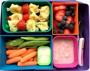 Tortellini Laptop Lunch - RachelsRandom.com #bento #vegetarian #laptoplunches @Laptop Lunches