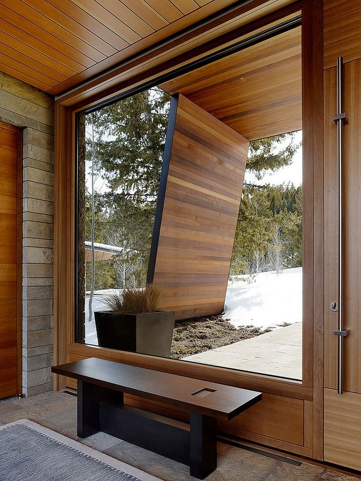 House and Artist's Studio Embracing Spectacular Views in Wyoming: fresh and dynamic interiors, extensive use of glass and high ceilings