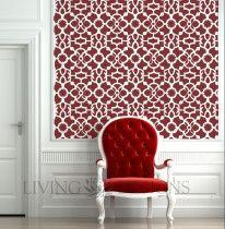 Plantillas Decorativas para el diseño de interiores, no gastes fortunas en papel tapiz, mejor pinta tus paredes con plantillas y crea el mismo ambiente pero a menor precio!