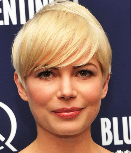 New Short Hairstyles Round Face