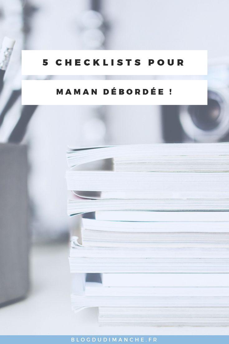 Si vous voulez gagner du temps en préparant le sac de votre bébé, ces différentes checklists vous aideront sûrement !