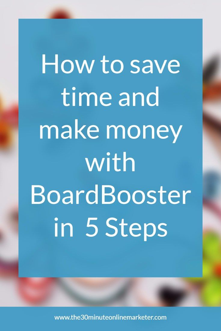 The 5 things you must do to save time and make money with BoardBooster