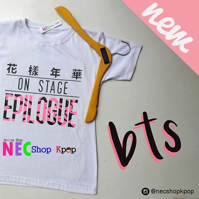Thank You ,STOK HABIS (Yang mau pesan Bisa ikut di PO Bulan JULI) #Nec_BtsEpilogue 👈 #PoNec2016 👈 MUST HAVE ITEM Product Code : BTS ON STAGE EPILOGUE T-SHIRT Price : IDR 75.000 / USD 7/ MR 24 For long sleeve (+IDR 8.000) Material : Cotton Combad...