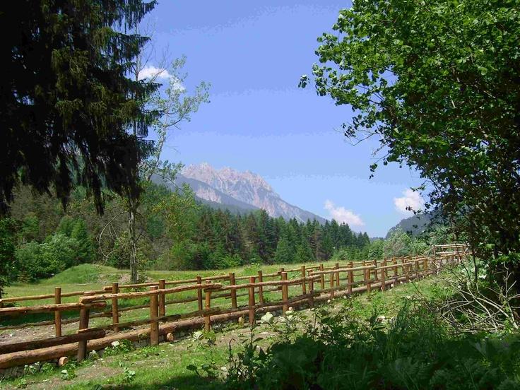 Forni di Sopra, near Udine, Italy. Come visit Friuli Venezia Giulia in Italy for your summer vacation