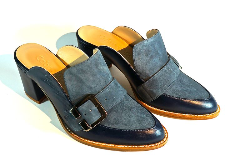 Hand Made Leather Footwear. Lamb's Leather with Buff. LM-004