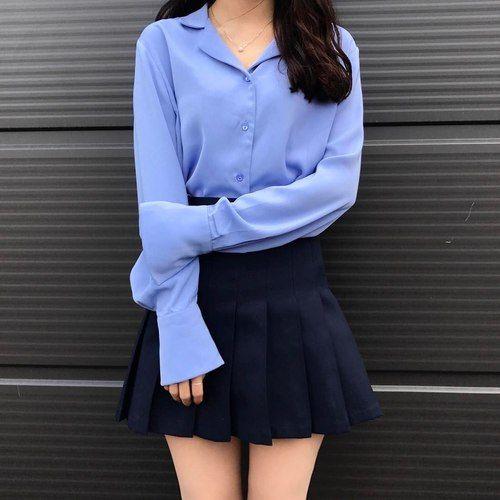 Imagen de asian, girl, and casual