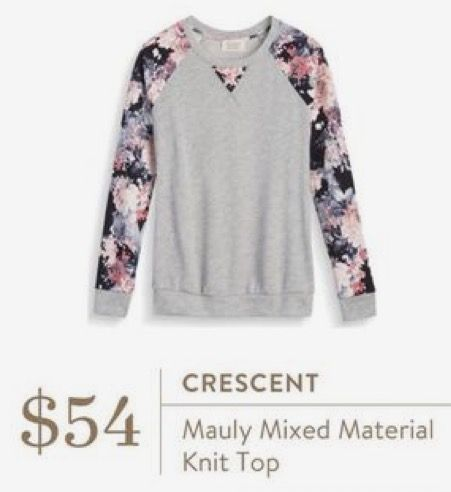 Gorgeous Top! Stitch fix inspiration for February 2017. Try stitch fix subscription box :) It's a personal styling service! 1. Sign up with my referral link. (Just click pic) 2. Fill out style profile! Make sure to be specific in notes. 3. Schedule fix and Enjoy :) There's a $20 styling fee but will be put towards any purchase! #sponsored