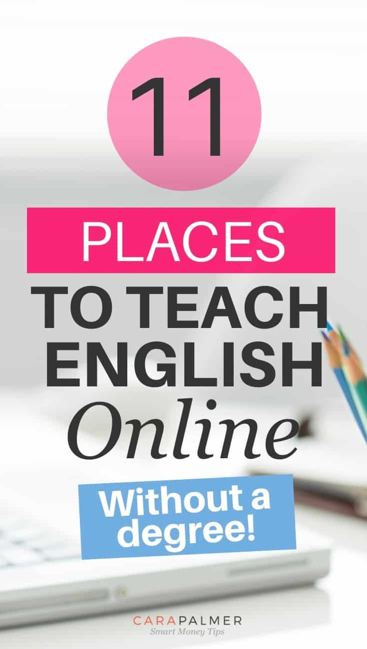 11 Places To Teach English Online Without A Degree In 2020 Teaching English Online Teaching English Online Teaching Jobs