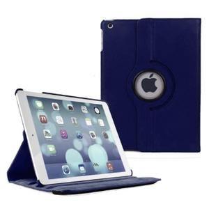 Housse Coque Etui iPad Air 2-360 Rotative   Bleu marin