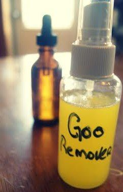 Homemade Goo Gone Recipe - store bottle cost around $5 and homemade around $1