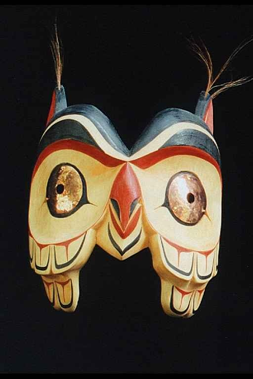 inuit masks owl - Google Search | origami ideas ...
