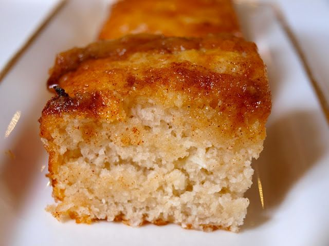 Coconut Bread - I had some of this in Castries, St. Lucia. Warm, moist and delicious!