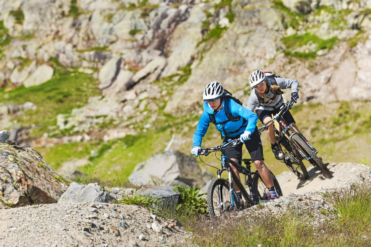 De zomerse trails van Alpe d'Huez