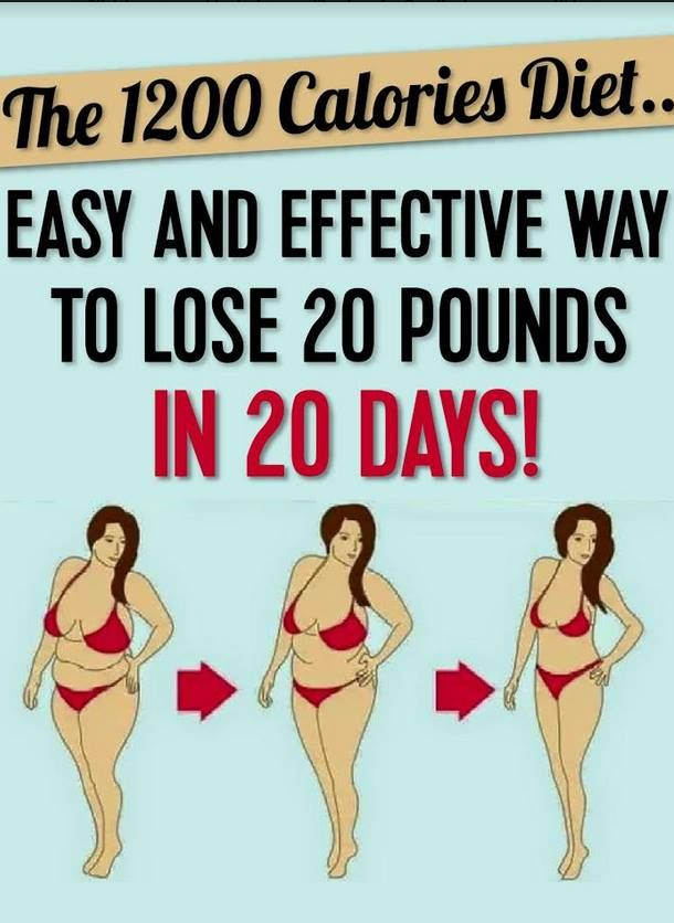The 1200 Calories Diet... Easy And Effective!
