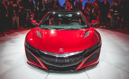 Acura NSX Reviews - Acura NSX Price, Photos, and Specs - CARandDRIVER