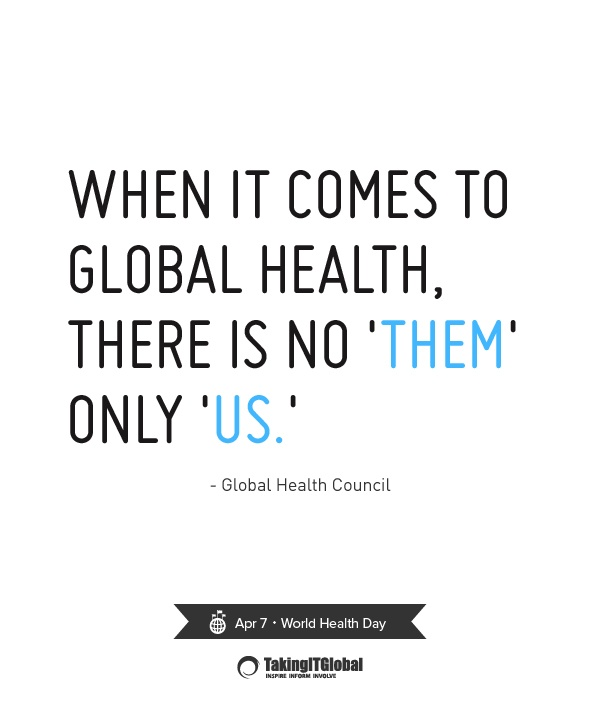 Inspiring Global Health Quotes