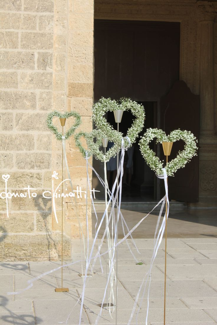 Original #decoración #floral para #bodas religiosas o al aire libre, favorita @innovias