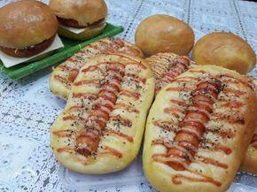 Resep Killer Soft Bread (Tintin Rayner) favorit. Biasanya kalau KSB identik sama roti sobek ya.. Tapi lagi bosen sama roti sobek jadi buat caterpilar sama burger aja... Rasanya  Mantap...Mantap...Mantap... Karna resepnya copy paste dari Ci Tintin sih  Lagian paling cepet buat roti KSB karna cuma 1x proofing aja.