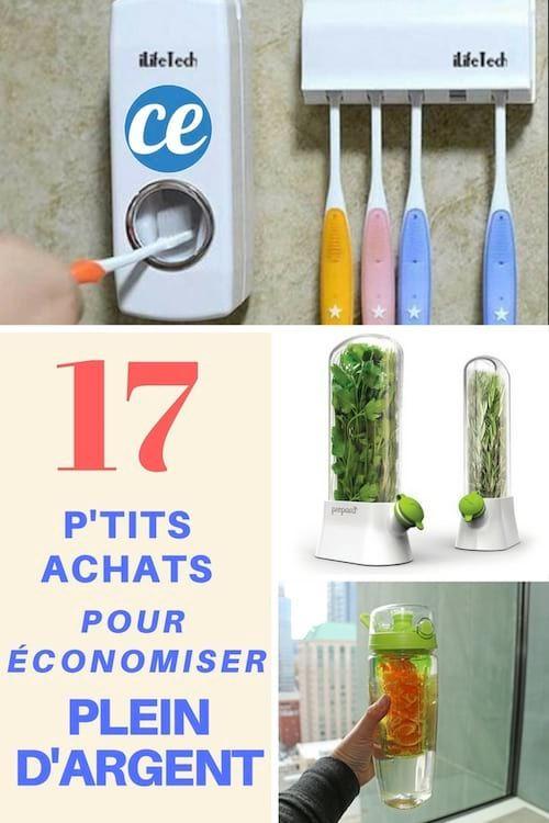 Voici 17 produits malins qui vont vous aider à économiser beaucoup d'argent sur le long terme.