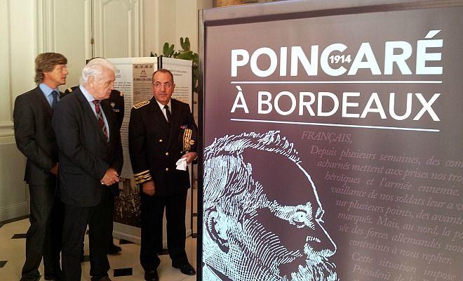 Commémoration 14-18:  L'exode bordelais du Président Poincaré