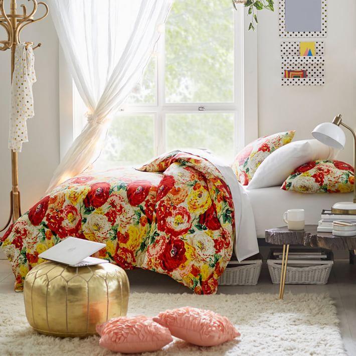 Savannah Garden Duvet Bedding Set With Duvet Cover, Duvet Insert, Sham, Sheet  Set + Pillow Inserts Part 34