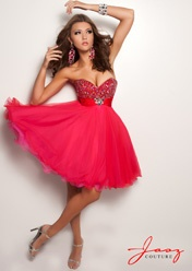#JaszCouture 4725 Cute baby-doll strapless, sweetheart cocktail #dress. #prom #promdress #homecoming #IPAProm #Prom360