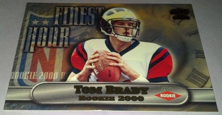 2000 Pacific Finest Hour #15 Tom Brady Team: New England Patriots #NewEnglandPatriots