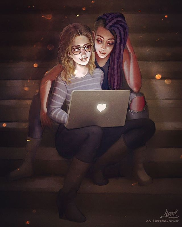 Nomi & Amanita - Sense8 ❤️ The idea was to have this ready for the Brazilian…