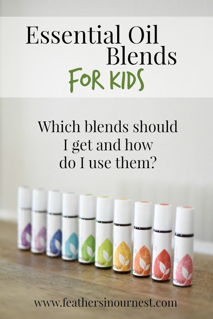 Rocky Mountain Oils essential oils for kids - how to use essential oil blends for children | Feathers in Our Nest